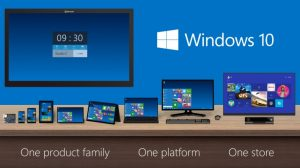 The Windows 10 family