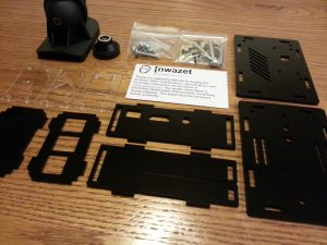 The camera box parts