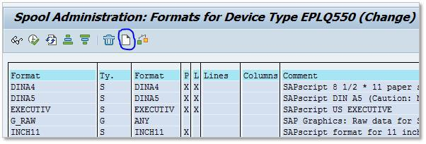 SAP Custom Page Format 3-6